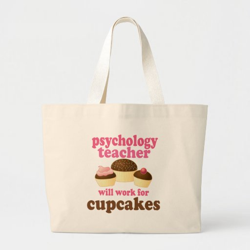 Psychology Teacher (Funny) Gift Canvas Bags