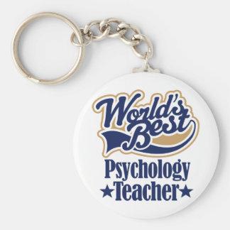 Psychology Teacher Gift For Basic Round Button Key Ring