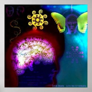 Psychology Vs Spirituality Poster
