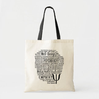 PSYCHOLOGY Word Cloud bags