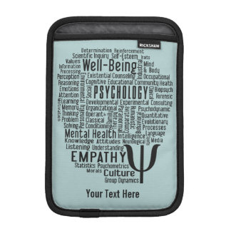 PSYCHOLOGY Word Cloud device sleeves