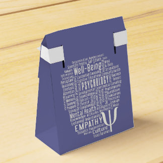 PSYCHOLOGY Word Cloud favor boxes