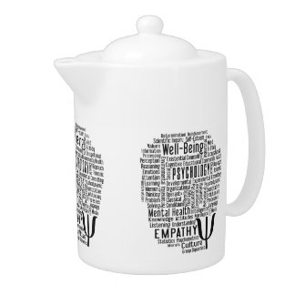 PSYCHOLOGY Word Cloud teapot