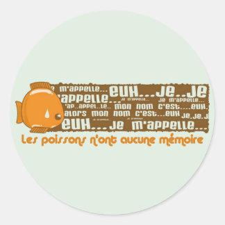 Psychose Round Sticker