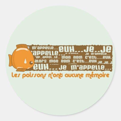 Psychose Round Stickers