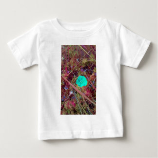 Psycodelia Flowers Unique Trendy Modern Baby T-Shirt