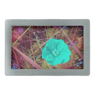 Psycodelia Flowers Unique Trendy Modern Belt Buckle