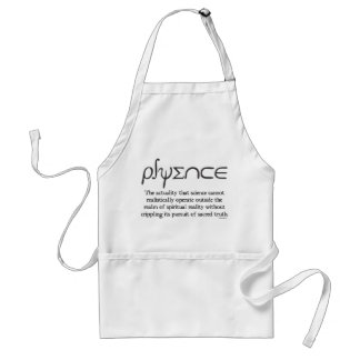 psyence adult apron