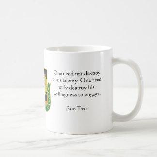 Psyop Regimental, One need not destroy one's en... Coffee Mug