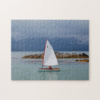 PT11 nesting dinghy scenic sailing puzzle