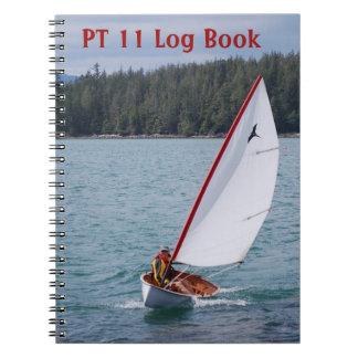 PT 11 Log Book notebook