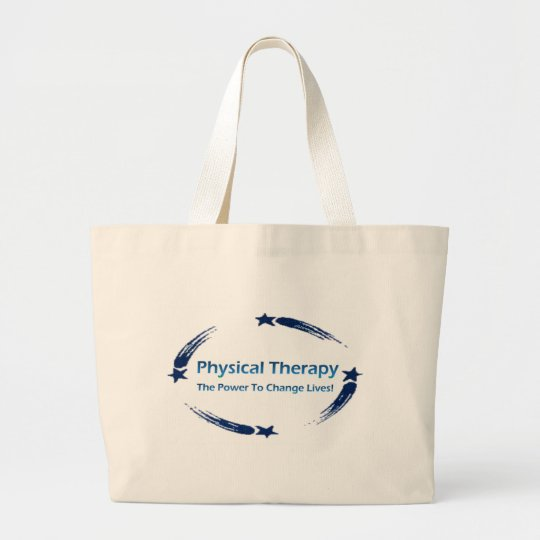 PT Power To Change Lives Large Tote Bag