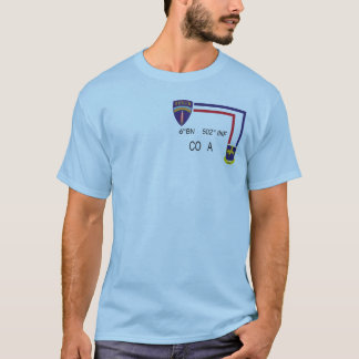 PT Shirt 6th BN 502nd INF CO A
