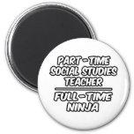PT Social Studies Teacher...FT Ninja