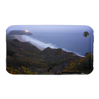 Pt. Sur Lightstation and flowering chapparal, iPhone 3 Cases