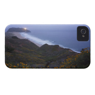 Pt. Sur Lightstation and flowering chapparal, iPhone 4 Case