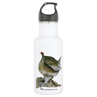 Ptarmigan bird, tony fernandes 532 ml water bottle