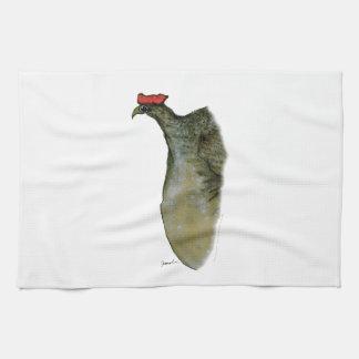 ptarmigan bird, tony fernandes tea towel
