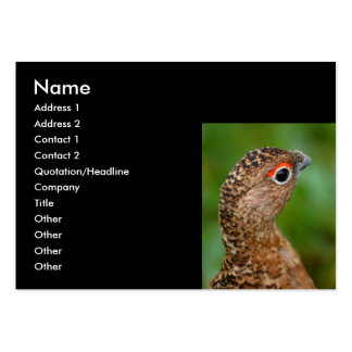 ptarmigan large business cards (Pack of 100)