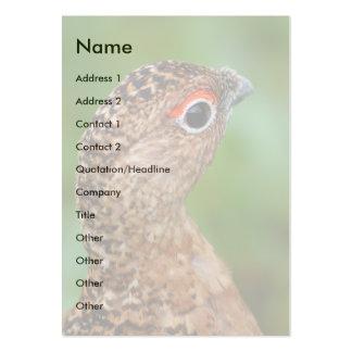 ptarmigan business card template