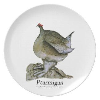 ptarmigan, tony fernandes plate