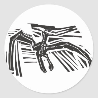 Pterodactyl Fossil Sticker