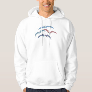 Pterodactyl Group Graphic Hoodie