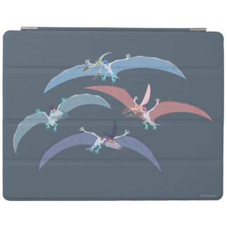 Pterodactyl Group Graphic iPad Cover