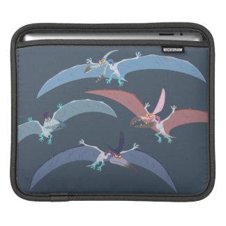 Pterodactyl Group Graphic iPad Sleeve