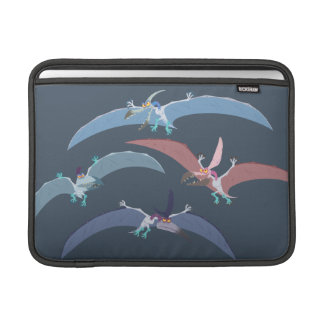 Pterodactyl Group Graphic Sleeve For MacBook Air