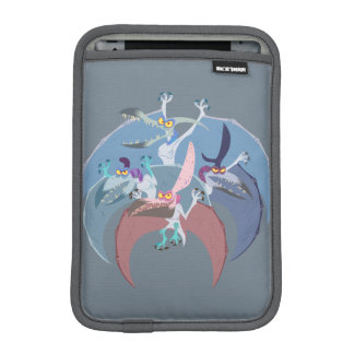 Pterodactyl Group Stack iPad Mini Sleeve