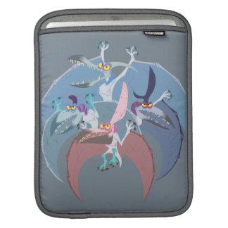 Pterodactyl Group Stack iPad Sleeve