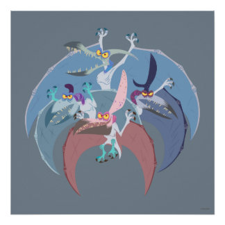 Pterodactyl Group Stack Poster