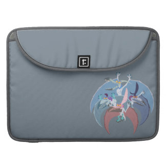 Pterodactyl Group Stack Sleeve For MacBooks
