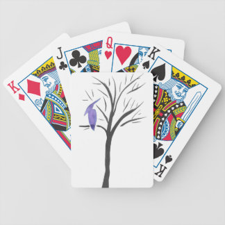 Pterodactyl In A Tree Bicycle Playing Cards