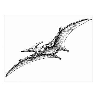 Pterodactyl Postcard