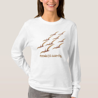 Pterodactyls Swarming T-Shirt