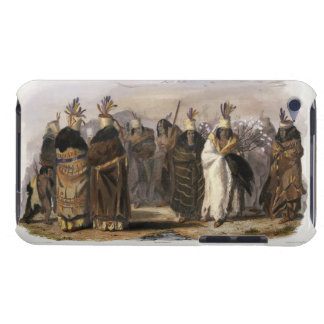 Ptihn-Tak-Ochata, Dance of the Mandan Women, plate Barely There iPod Case