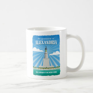 Ptolemaic Lighthouse of Alexandria Basic White Mug
