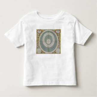 Ptolemaic System, from 'The Celestial Atlas, or Th Toddler T-Shirt