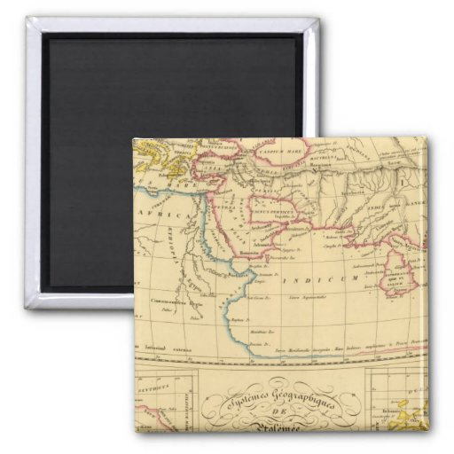 Ptolemy's Geography Magnet