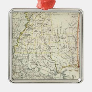 Pts of Louisiana, Ark, Miss, Ala, Florida Christmas Ornament