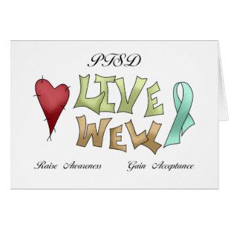 PTSD Awareness Greeting Card