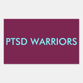 PTSD WARRIORS Sticker