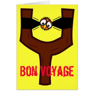 Ptwang Tweet Bon Voyage Card