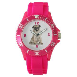 Pu-Pu Pug Wristwatches