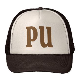 PU. Something stinks. Mesh Hat