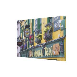 Pub, Dingle, Dingle Peninsula, County Kerry, Canvas Print