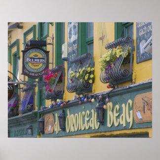 Pub, Dingle, Dingle Peninsula, County Kerry, Poster