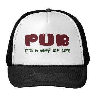 Pub It's a way of life Mesh Hat